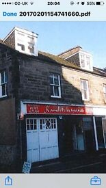 Hot food licences commercial property in Dunfermline opposite alhambra