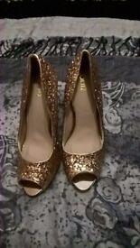 Ladies QUIZ shoes- party/evening wear/bridal
