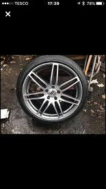"22"" alloys 6 months old good. Condition 🚗"