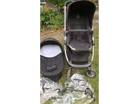 ICANDY CHERRY TRAVEL SYSTEM IN BLACK