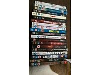 Collection of DVD's, 20 in all.