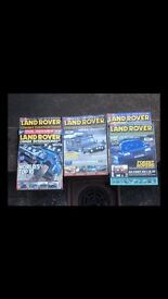 Land Rover magazines
