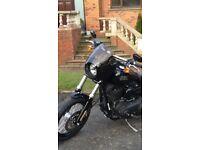 Harley Davidson Dyna Memphis Shades Cafe Fairing and mounting kit