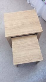Nest Of Tables Set of 2 Wood