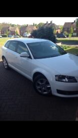 LOWEST PRICE WHITE AUDI A3, HPI CLEAR, NO ACCIDENTS *QUICK SALE* FULL SERVICE HISTORY