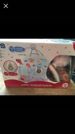 Mothercare Safari Musical Baby Mobile