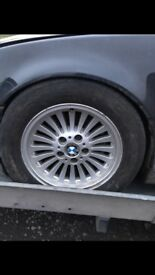 BMW 16 INCH ALLOYS FOR SALE