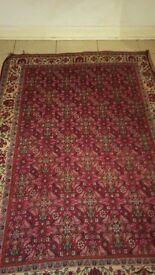 Hand made beautiful antique rug