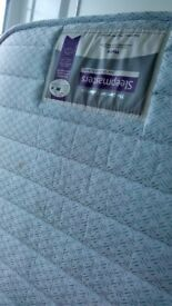 Free - single small guest bed mattress used only 2 - 3 times