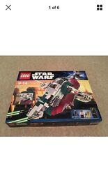NEW Discontiuned rare Lego Star Wars slave 1 8097