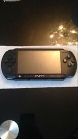 PSP with two GTA games in still good condition .