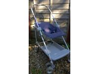 Maclaren Collapsible Push Chair with rain cover - REDUCED
