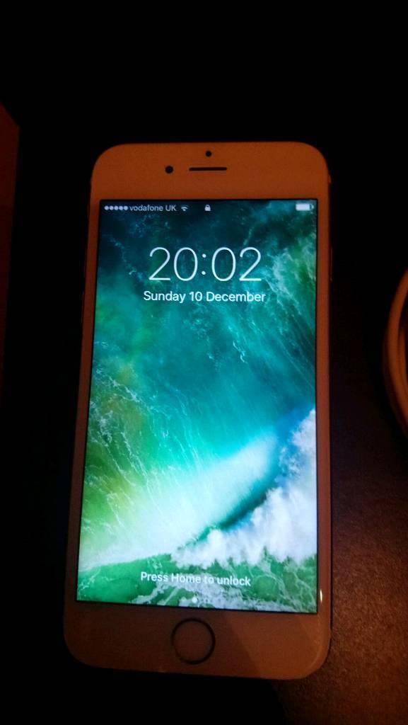 Iphone 6s 16gb gold