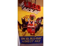Lego Movie advertising board