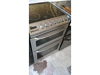 Silver Electric cooker 50cm....cheap free delivery