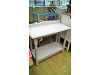 Hall table wash stand - shabby chic