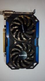 Graphic card GTX 960 Windforce 4gb