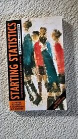 Starting Statistics: A Student Handbook (2nd Ed) by Heyes et al (1996). (Oxford University Press).