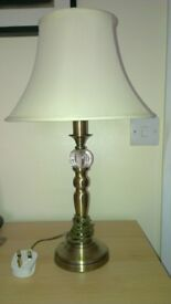Bedside Lamps including Shades (PAIR)