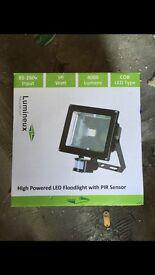 Brand new led floorlight with sensor