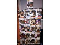 Bundle of various £5 funko pop figures