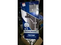Triton 9.5kw/8.7kw electric shower, unused, still in box