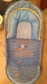 Baby bath seat aid