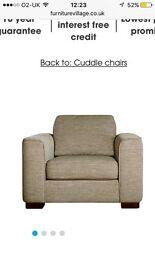 Furniture village Snuggler sofa like New