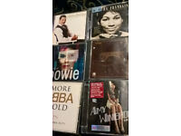 Best of Bowie CD (2 disc) plus lots other titles (Queen, Carpenters etc)