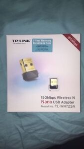 WIFI Adapter - TP Link - 2.4 GHz - 150Mbps