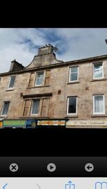 2 bed flat to rent high street Johnstone dss welcome