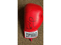 Floyd Mayweather signed glove everlast