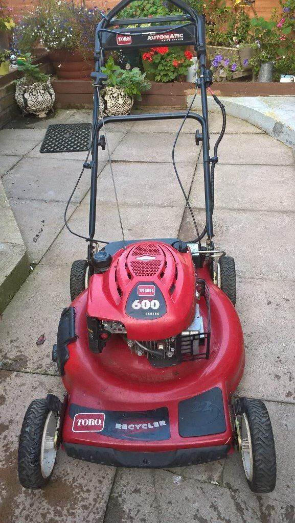 Toro 600 Series Recycler Lawn Mower With Electric Start