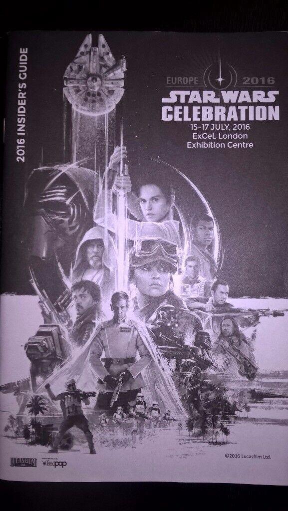Star Wars Celebration London 2016 'Insider Guide'