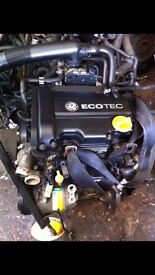 vauxhall corsa c z10xep engine