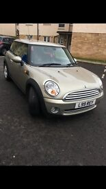 3 dr hatchback 09 mini One for sale