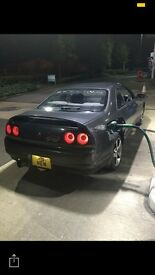 Nissan skyline r33 s13 s14 turbo rwd drift track road legal conversion