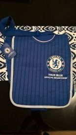 """Chelsea """"True Blue"""" Official Membership Man/School bag Brand new with tags 16"""" x 14"""" or 41cm x 36cm"""