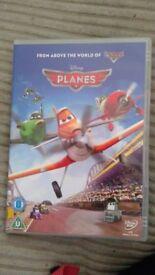 dvds PLANES / 2 LEGO DVDs /cds BEDTIME/NURSERY RHYME