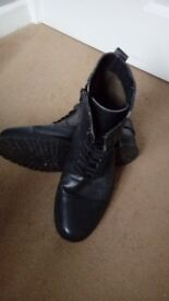 Rivington Military Style Boots size 9