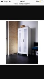 White Ikea wardrobe