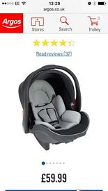 Brand New Group 0+ Car Seat Mamas and Papas.
