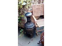 Redwood leisure bronze chimnea