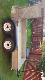 """Car trailer. Plant trailer. Twin axel 9ft x 5ft 3"""""""