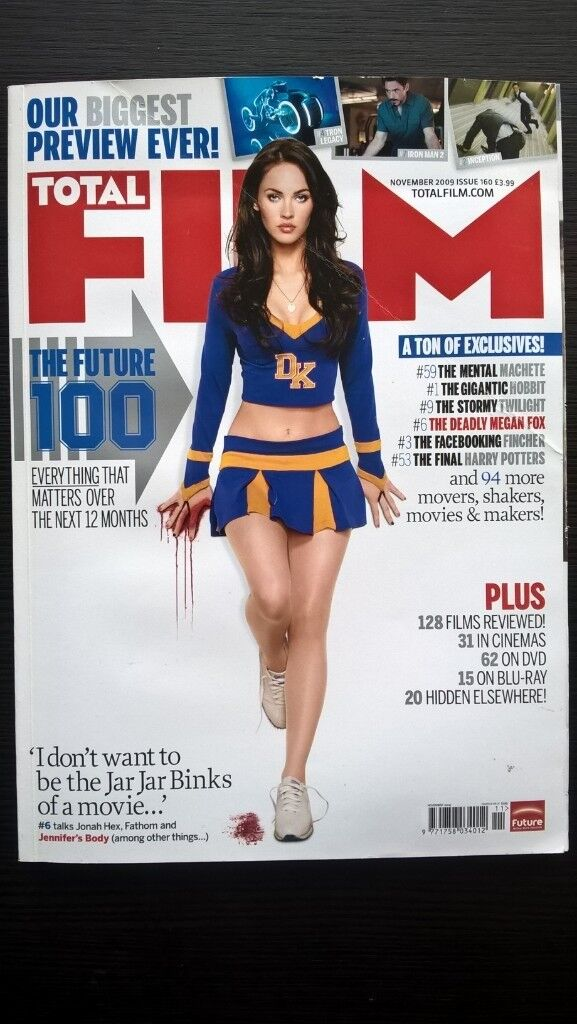 Total Film Magazine Issue 160 November 2009 Small Size Edition
