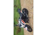 KTM Duke 125cc white edition