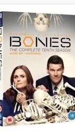 Bones complete tenth season brand new in packet