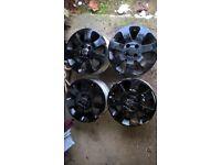 Alloys Wheels 15 inch x 4 (Vauxhall)