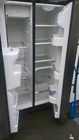 silver American fridge freezer....Mint free delivery