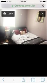 Double bed with mattess £50 in good condition